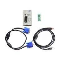 RT809F Programmer Electronic Kits LCD USB RT809F Universal EPROM FLASH VGA ISP AVR GAL PIC Programmer