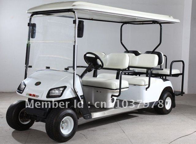Hot Sell! 6seater,Electric car,CE Approval,B4+2