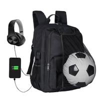 Soccer Backpack Basketball bag School bags For Teenager sport Ball Pack Laptop Bag Football Net Gym Bags 2018 newest