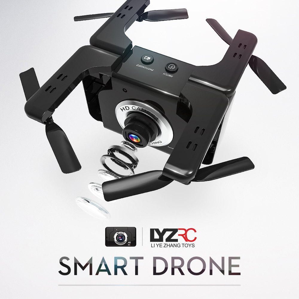 LYZRC L600 <font><b>Mini</b></font> <font><b>Drone</b></font> <font><b>FPV</b></font> <font><b>Drones</b></font> with Camera RC Helicopter Quadcopter Remote Control Quadrocopter Dron Toys for Boys Kids image