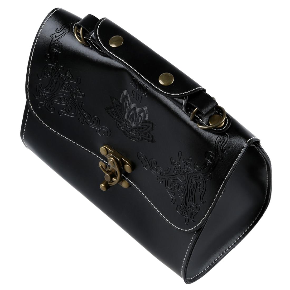 Черный Новый Ретро Винтаж Стиль Для женщин сумка