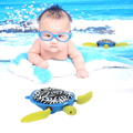 Lovely Swimming Turtle Baby Bath Toy Cute Fun Turtle Bath Time Pool Toy Baby Bathtub Bathing Playing Toy