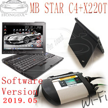 Connect 4-Diagnostic-Tool Mb Star Full-Software Compact I5 C4 WIFI with Wifi-Function