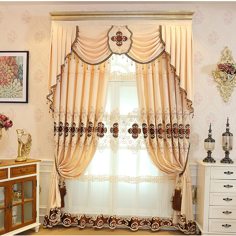 Jacquard-Modern-Simplicity-Blackout-Curtain-For-living-Room-Bedroom-Window-Drapes-Custom-Made-Home