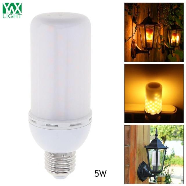 Aliexpress kup YWXLight E27 Flame lamps LED Flame Effect Fire
