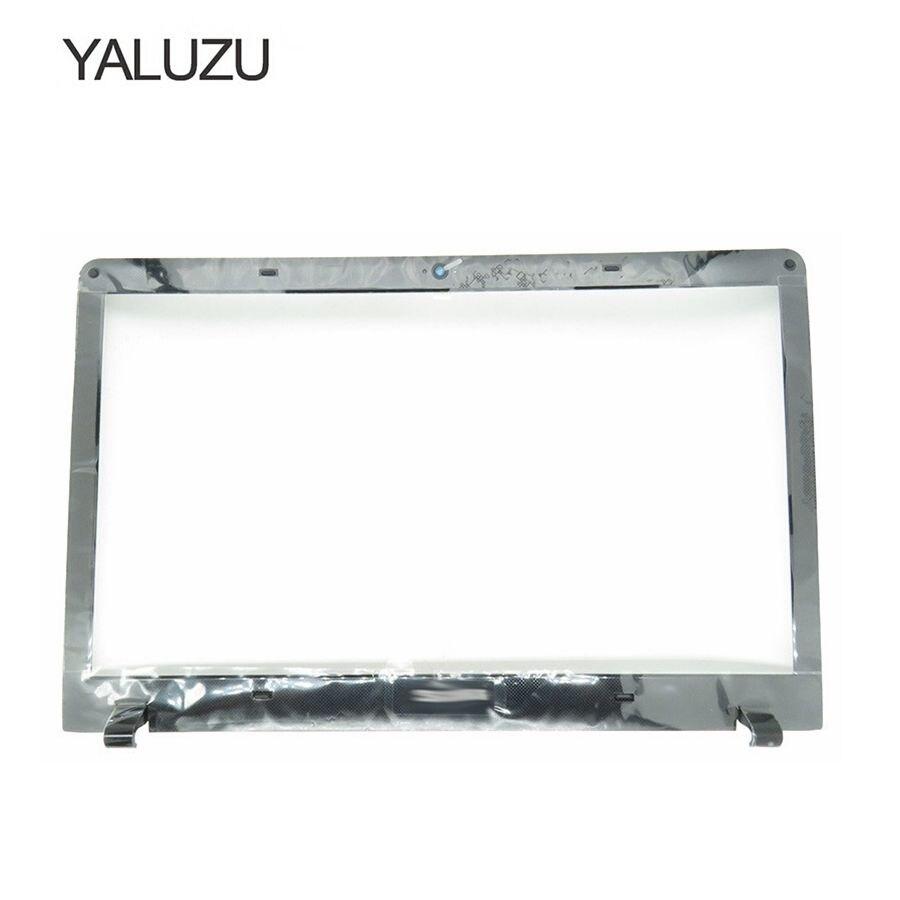 YALUZU NEW LCD Front Bezel for Samsung NP270E5E NP270E5V NP275E5E 300E5E NP300E5E Cover BA75-04421A Laptop screen cover B case