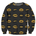 New Fashion Mens/Womens Gold Lip Series 3D Print Sweatshirt Hoodies S M L XL XXL 3XL 4XL 5XL 6XL