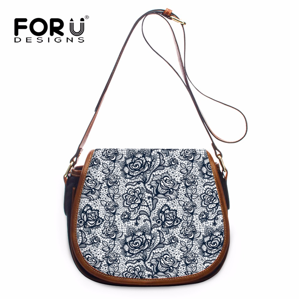 FORUDESIGNS 2017 New Design Floral Style Ladies Crossbody Bags Vintage PU Leather Mini Shoulder Bags for Women Fashion Girls Bag anti fatigue 300 degree resin lens presbyopia reading glasses golden black