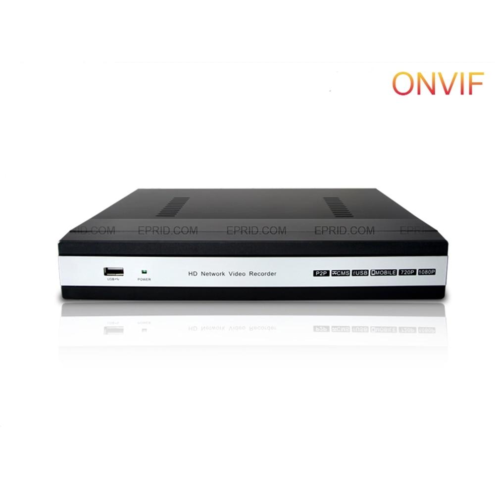 8CH HDMI 1080P 4MP H 265 P2P Record ONVIF 1U Network font b Video b font
