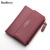 New Designer Brand Leather Wallets Women Hasp Short Coin Purses Money Bags Credit Card Holders Wholesale