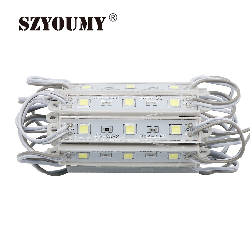 SZYOUMY Hot Sale 5050 SMD 3 LEDs Pixel Modules DC12V Waterproof Hard Strip Bar Light Lamp Factory Directly Shipping