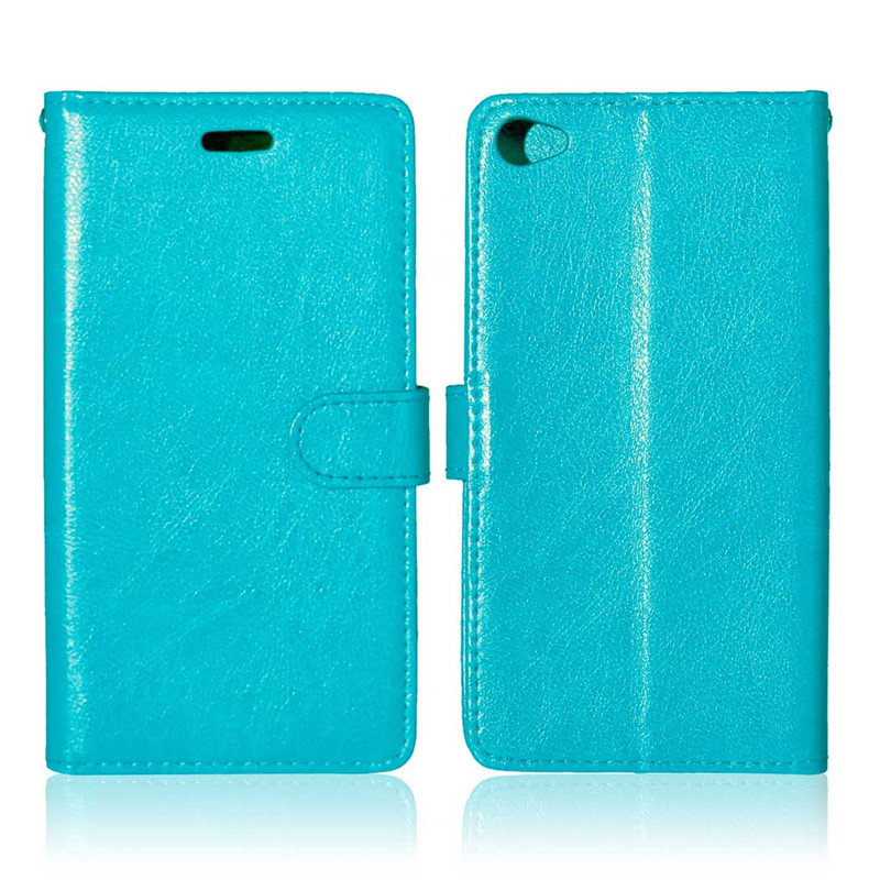 Retro Crazy Horse Leather <font><b>Case</b></font> <font><b>For</b></font> <font><b>Lenovo</b></font> <font><b>S90</b></font> Wallet Stand Flip Cover coque capinha phone bags image