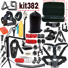 A9 for Gopro Equipment set for go professional hero 5 four Three equipment mount for SJCAM SJ4000 /eken h9 / xiaomi yi digicam tripod equipment382