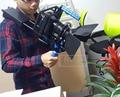 5 5DIII 5DII 60D 70D 6D DSLR Rig Shoulder suporte + Câmera handheld caso + capa de Lente + Follow focus belt Photo Studio acessórios
