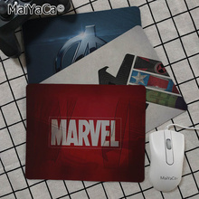 MaiYaCa Simple Design Marvel Comics logo Customized laptop Gaming mouse pad Smooth Writing Pad Desktops Mate gaming