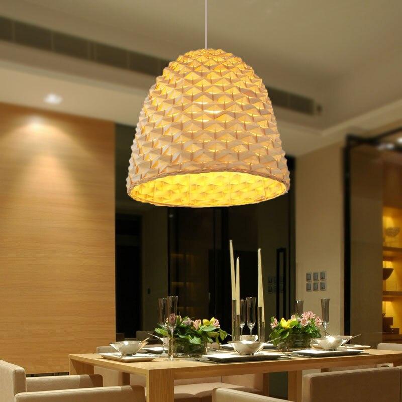 Современная люстра в китайском стиле, креативные светильники для ресторанов, освещение для гостиной, античный Натуральный Бамбуковый чайн