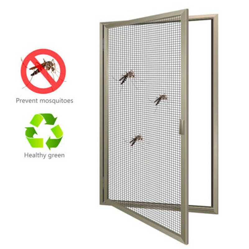 hot Anti-mosquito Mesh Sticky Wires Patch Repair Tape Summer Screen Window Door Mosquito Netting Patch Repair Broken Holes