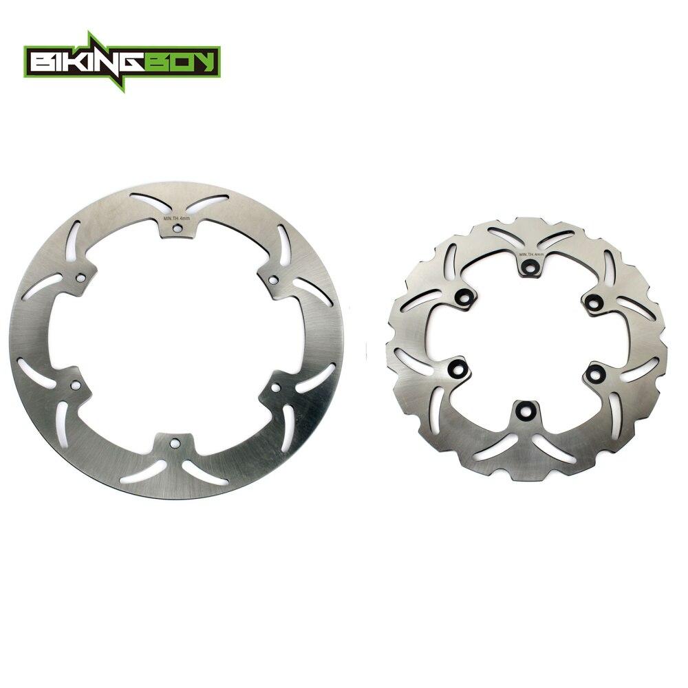 BIKINGBOY disques de frein avant arrière disques Rotors pour Yamaha XJ 600 N S XJ600N XJ600S Diversion 91 92 93 94 95 96 97 1991-1997