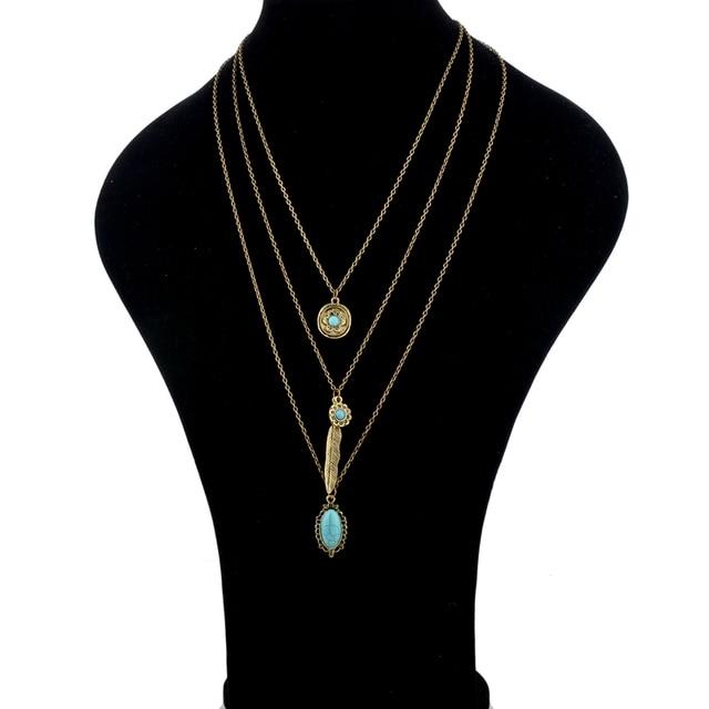 Chicvie женское длинное массивное ожерелье для женщин с бусинами
