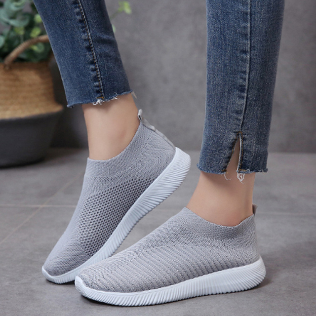 Litthing Outdoors Women Trainers Running Shoes Woman Sock Footwear Sport Unisex Breathable Mesh Female Casual Sneakers 1