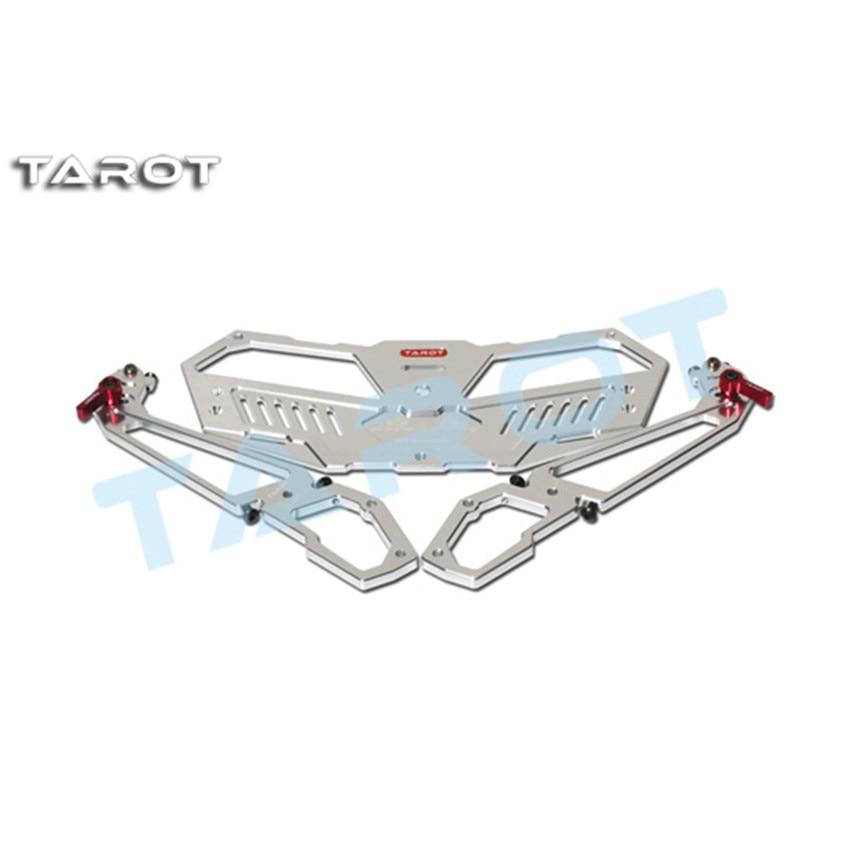 Oyuncaklar ve Hobi Ürünleri'ten Parçalar ve Aksesuarlar'de Tarot RC alüminyum alaşım uzaktan kumanda tepsisi FPV ekran çerçevesi TL2877 için uygundur uçan elektrikli oyuncak modeli uzaktan kontrol'da  Grup 1
