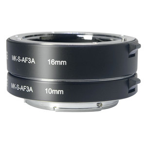 Image 1 - Meike Messa A Fuoco Automatica Macro Tubo di Prolunga Anello Adattatore per Sony E mount NEX3 NEX 5 NEX 7 NEX 6 A7 A7II A7III A6000 a6300 A6400