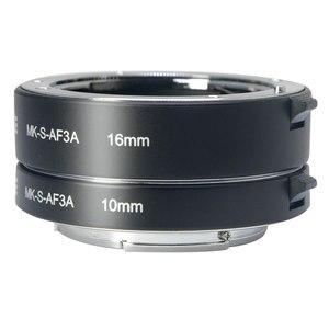 Image 1 - Đế Pin Meike Tự Động Lấy Nét Ống Macro Adapter Ring Cho Sony E Mount NEX3 NEX 5 NEX 7 NEX 6 A7 A7II A7III A6000 a6300 A6400