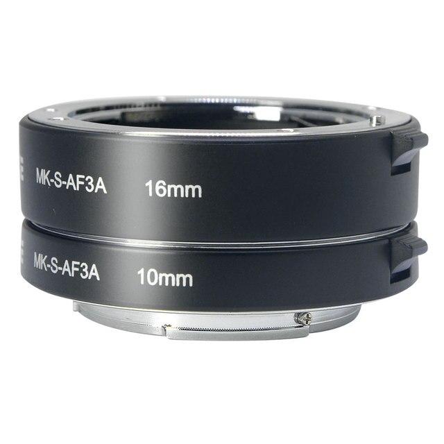 Đế Pin Meike Tự Động Lấy Nét Ống Macro Adapter Ring Cho Sony E Mount NEX3 NEX 5 NEX 7 NEX 6 A7 A7II A7III A6000 a6300 A6400