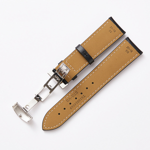 Image 5 - 19mm Watchbands Genuine Leather 20mm Black Watch Accessories Watch Bracelet Steel Buckle Watch Band Strap for Tissot 1853 T095
