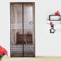 Anti Mosquito Mesh Curtain Net Automatic Closing Magnetic Portiere Door Fly Screen Summer Kitchen Tulle Window mosquitera puerta