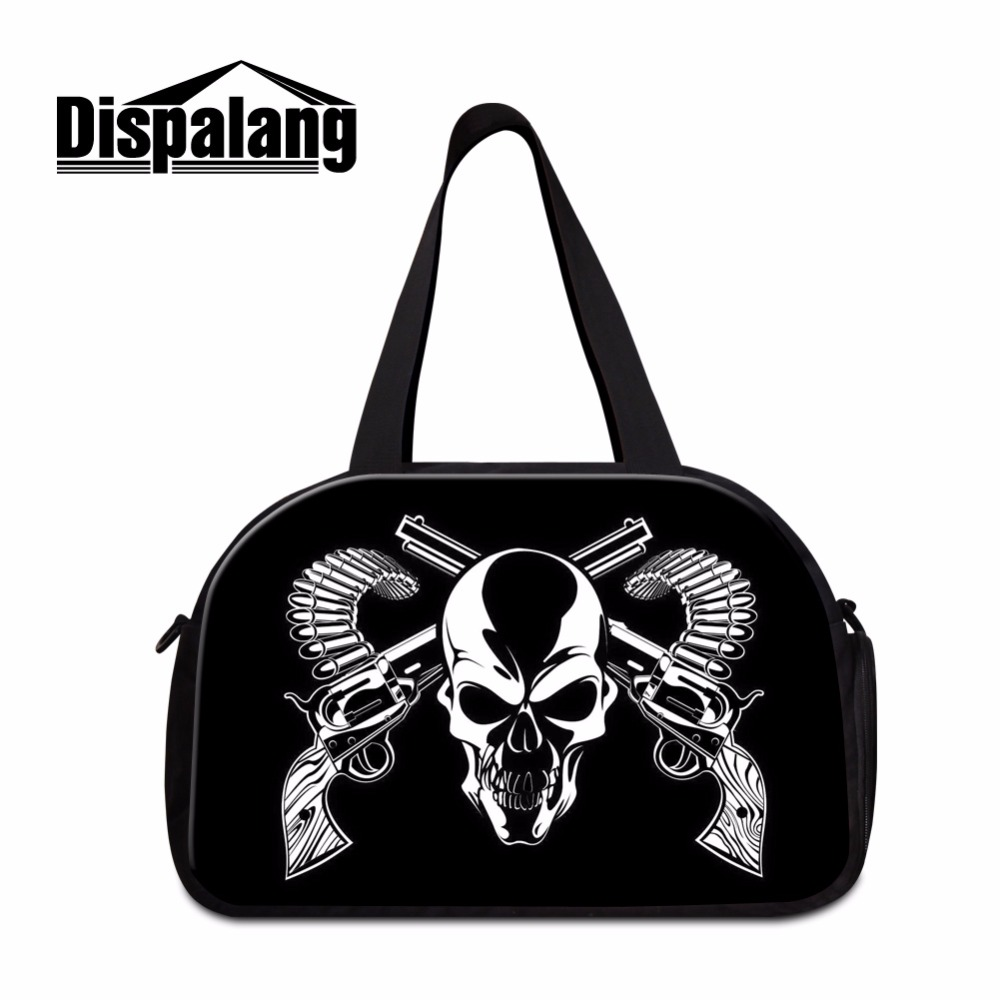 Us 29 99 40 Off Cool Workout Duffle Bags For Men Skull Medium Sized Shoulder Luggage Women Boys Sporty Bag Best Ager In