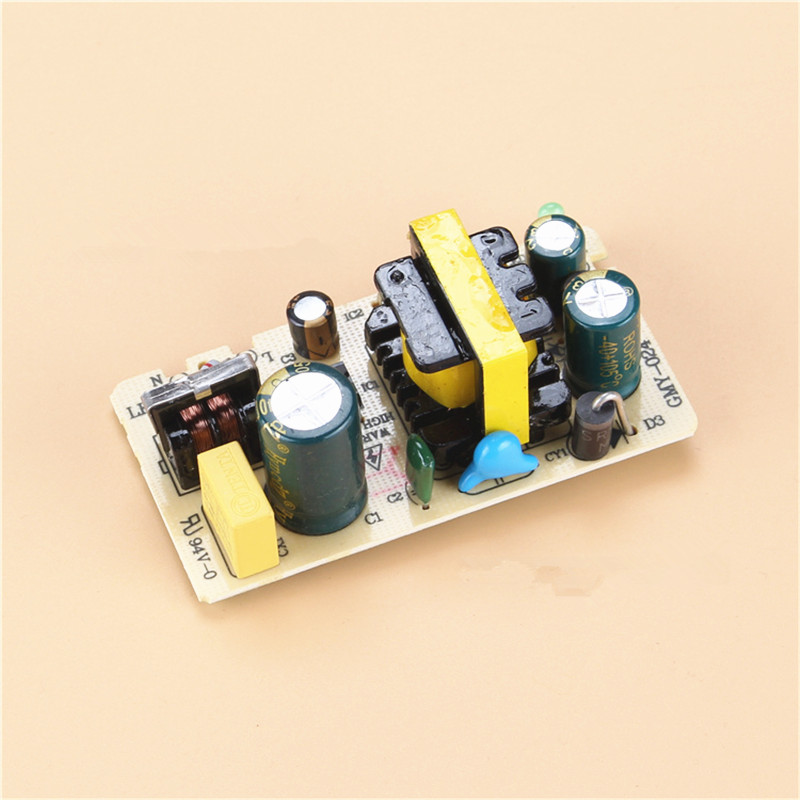 AC-DC 24V 1A 24W Switching Power Supply Module Bare Circuit AC100-240V to DC24V 1A Board for Replace/Repair ac dc 12v 2a 24w switching power supply module bare circuit 100 240v to 12v board for replace repair