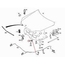 2048800560 блокировка крышки автомобиля защелка подходит для класса C W204 C180 C200 C250 C280 C300mer ced es-be nz2011-2013 Замок капота