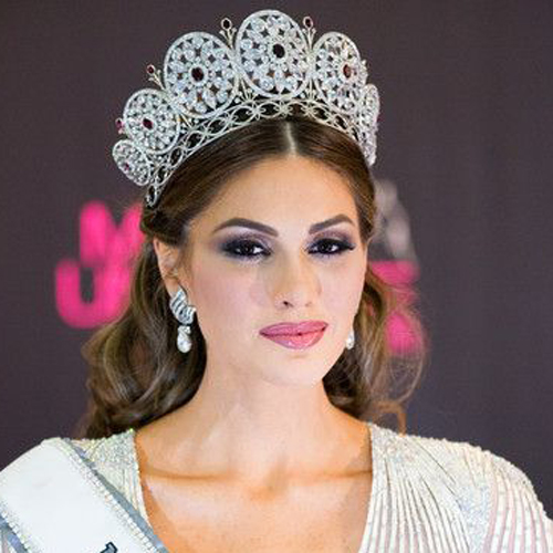 Giant Hot Round Crown Miss Universe 2009 Classic Womens