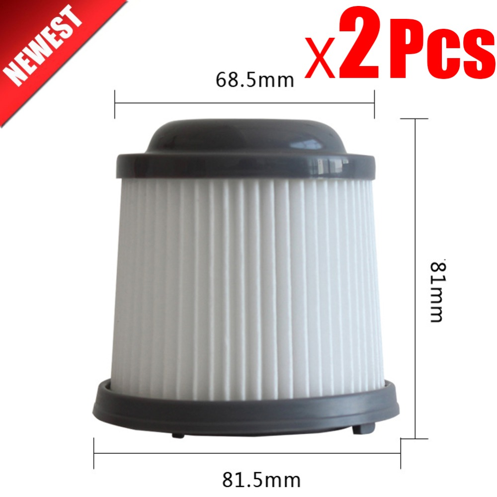 2Pcs Replacement For Black & Decker Filter Fits PVF110 PHV1210 PHV1810 Vacuum Cleaner Filter Hepa Compatible With Part 90552433