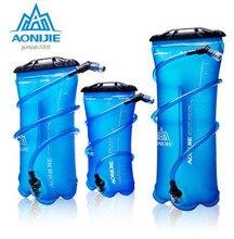 лучшая цена AONIJIE TPU Water Bag Men Women Outdoor Sport Hydration Bladder Foldable PEVA Sport Hydration Bladder 1.5L 2L 3L