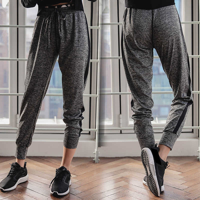 RealLion Frauen Hohe Taille Lose Sport Hosen Breites Bein Flare Hosen Breite Bein Fitness Yoga Hosen Frauen Hosen S-2X Plus größe