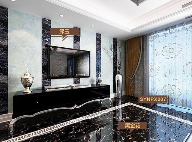 800X800mm Living Room Ceramic Tiles Foshan Gold Microcrystalline Stone Floor  Tiles TV Wall Tiles 2016 New