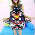 Moda Sprayground Mochila Coruja Asas de águia 3D Tribo Fêmea Sacos de Desenhos Animados Saco Unisex Mochila de Lona Mochila Casuais