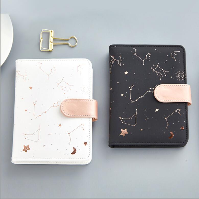 144 sheets <font><b>Kawaii</b></font> PU Leather <font><b>Notebook</b></font> <font><b>Diary</b></font> Memo Notes To Do It Planner Weekly Schedule Notepad School Office Stationery image