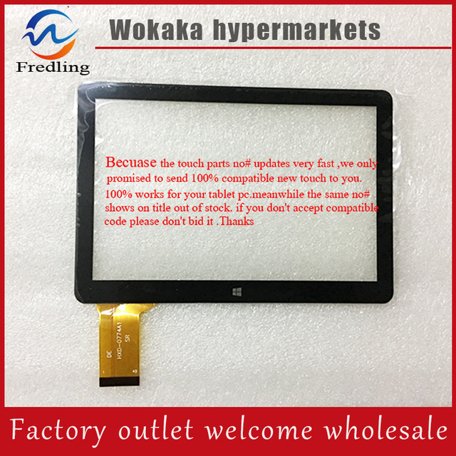 7 inch PIPO X8 Mini PC TV Box Tablet PC Màn Hình Cảm Ứng Bảng Điều Chỉnh Digitizer Glass Sensor Thay Thế New Black Cao chất lượng