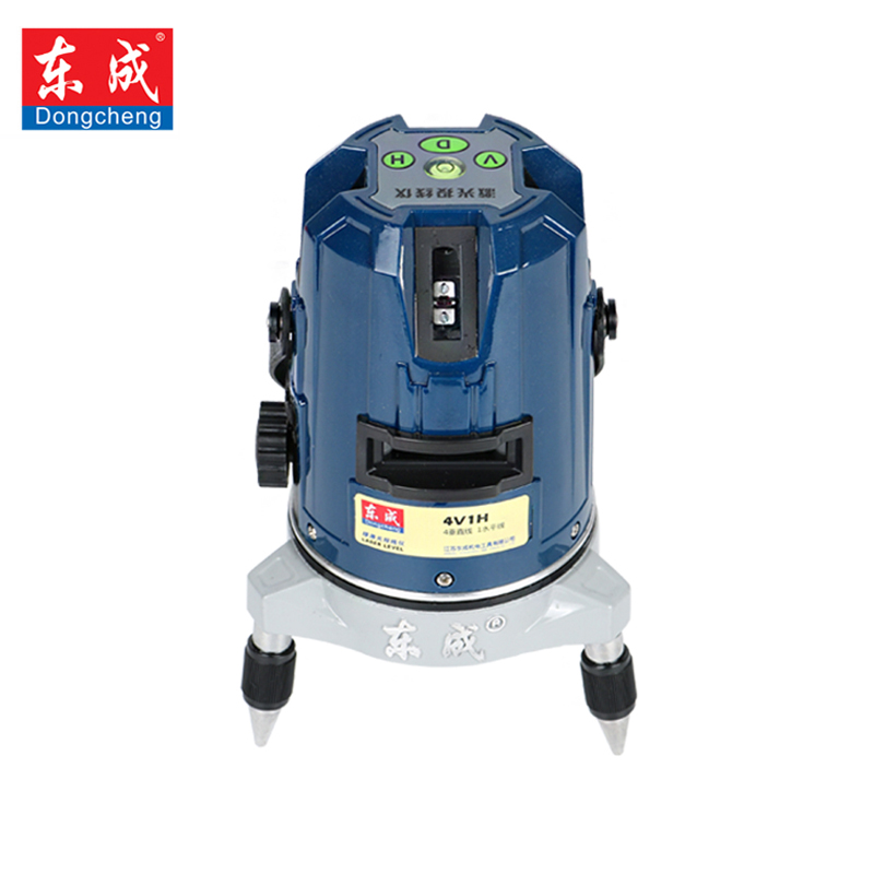 Dongcheng 2 Lines 3 Lines 5 Lines Red light Laser Level 360 Vertical & Horizontal Rotary Cross Laser Line Leveling with Outdoor high quality southern laser cast line instrument marking device 4lines ml313 the laser level
