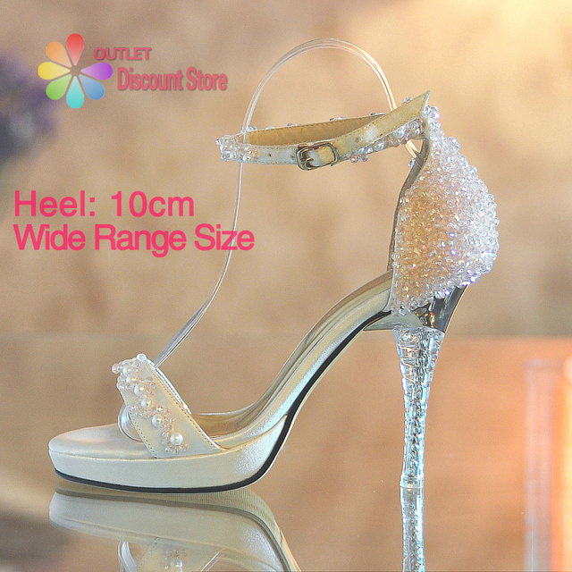 0b2bca01657ce Handmade Summer Beading Crystal Light Pink Women Sandals Strappy Heels  Ankle Strap For Evening Party Bridal Bridesmaid BTH016