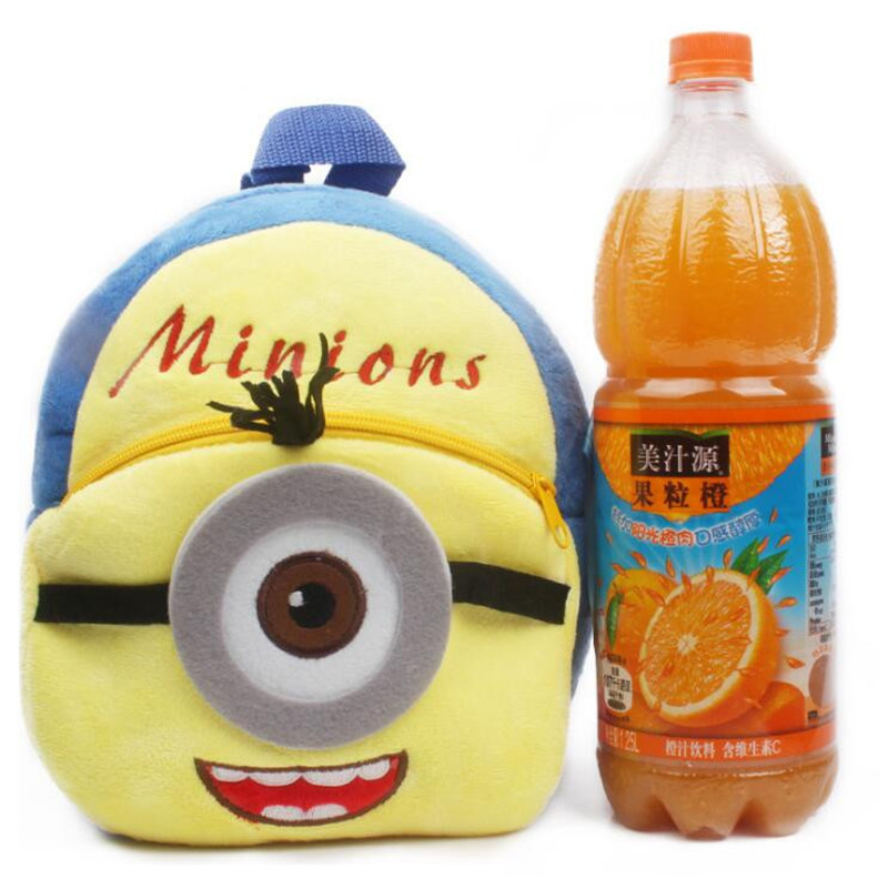 New-Arrival-Minions-Plush-Kids-Backpackers-Children-School-Bags-Christmas-Gifts-4