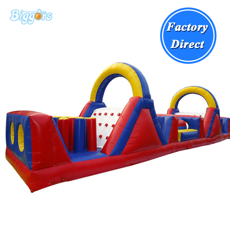 Outdoor Extreme Obstacle Course Fun Inflatable Obstacle ...