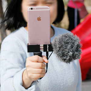 Image 2 - BOYA BY MM1 Condenser Video Recording Microphone on Camera Vlogging for iPhone Samsung Canon DSLR Zhiyun Smooth 4 Stabilizer