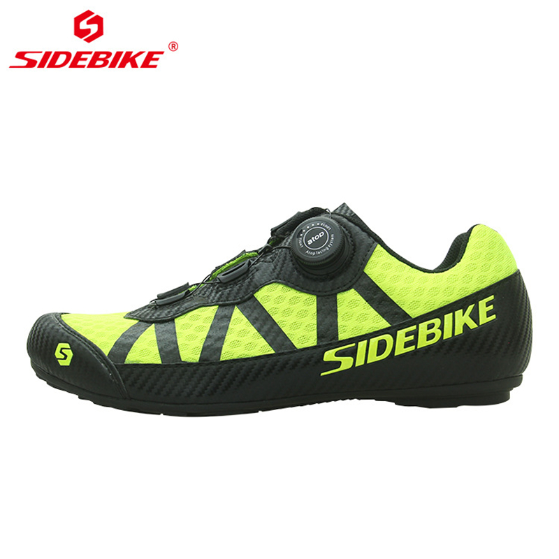 SIDEBIKE Breathable No Lock Cycling Shoes Men Women Non slip Road Mountain Bike MTB Shoes with