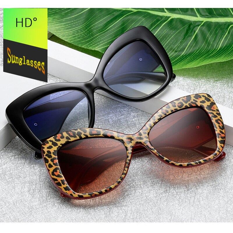 New 2019 Fashion Women Heart Sunglasses Butterfly Cat Eye Big Frame Leopard Tortoiseshell Gradient Flash Mirror Eyeglasses L3 in Women 39 s Sunglasses from Apparel Accessories