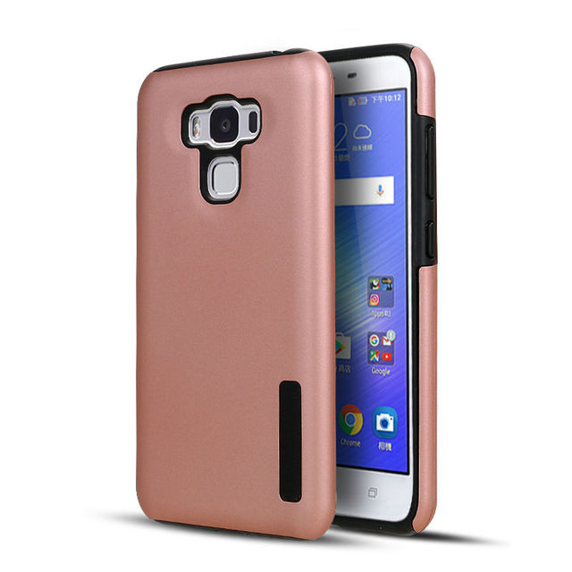 new arrival ee1a9 a7948 US $5.68 |Frosted Shield Phone Case For Asus Zenfone 3 Max 5.5 ZC553KL Hard  Plastic And Soft TPU 2 In 1 Cover For ASUS Zenfone zc553kl-in Fitted Cases  ...