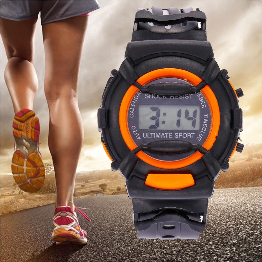 2019 New Kids Watch Boys Girls Children Digital Sports Watches Plastic Date Casual Electronic Watch 5 Colors Great Gifts Clock